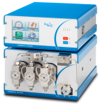 LABOMATIC HD-5000 NEW triple piston gradient pump with an integrated system controller for preparative HPLC